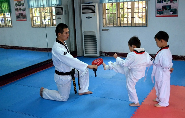 Martial Art - Self Defence - To Children